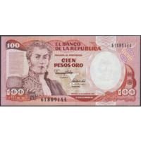 100 песо 1991г. UNC