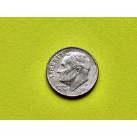 США. 10 центов (1 дайм) 2005 P (Roosevelt Dime).