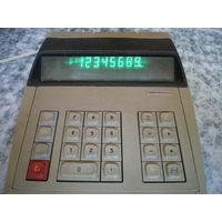Калькулятор настольный, Электроника Эпос-73А, рабочий.