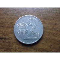 Чехословакия 2 кроны 1973