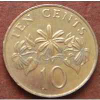 3731:  10 центов 1986 Сингапур