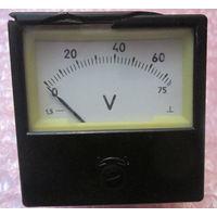 Вольтметр 0-75V