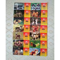 Наклейки Dogs ML(Maple Leaf). Редкая коллекция.90г