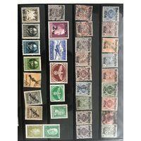Большой лот марок Третьего рейха 2. Есть чистые дорогие марки.  Все на фото!  С 1 руб!
