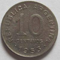 10 сентаво 1953 Аргентина