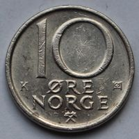 10 эре 1988 Норвегия