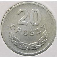 Польша 20 грошей 1971