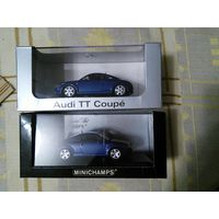 Продам две модели Audi TT производитель Minichamps