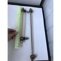 Ручка-рейлинг, держатель полотенца Цена за 1 Латунь/бронза