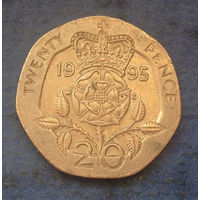 Великобритания 20 пенсов 1995