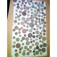 Монеты на реставрацию 140 шт