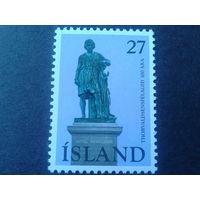 Исландия 1975 памятник