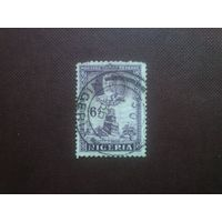 Нигерия 1936 г.Минарет в Хабе.