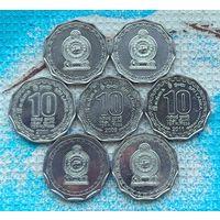 Шри-Ланка 10 рупий. Инвестируй выгодно в монеты планеты!