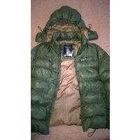 Мужская куртка оливкового цвета, р.48 (M)