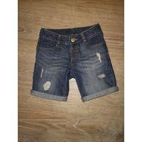 Шорты джинсовые Waikiki, р.104 (до 5 лет)
