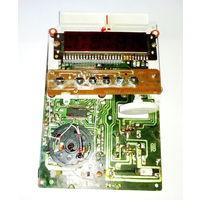 Платы радиотелефона International TL-6901 с часами и радиоприемником.