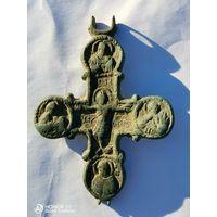 Створка от энколпиона, Распятие Христова,12-13 век.