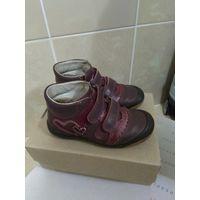 Ботинки,фирма Бартек кожа