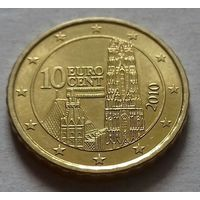 10 евроцентов, Австрия 2010 г., AU