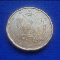 Кипр 20 евроцентов 2008