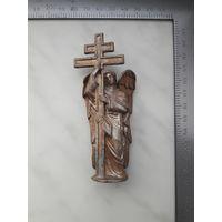 Фигурка ангел с крестом
