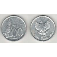 Индонезия km61 100 рупий 1999 год (al)(f14)
