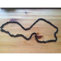 Красивые бусы из дорогого бисера, Чехия. Качественный материал, покупала дорого. Длина 40 см (полная длина 80 см).