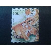 Азербайджан 1994 тигры