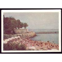 1960 год Украина Одесса Пляж Аркадия