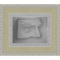 Рисунок, карандаш, глаз 90-е