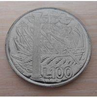 100 лир Сан-Марино 1973 года - из коллекции