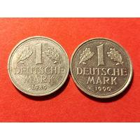 1 марка 1989-90 ГОД. (2 шт.)