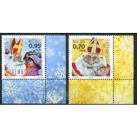 Люксембург 2016 Рождество и Новый Год Дед Мороз **
