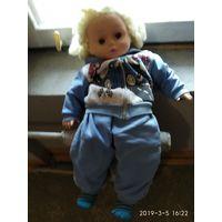 Большая детская мягко набивная Кукла.