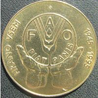 Словения 5 толаров 1995 ФАО холдер