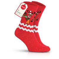 Носки с новогодней тематикой Кока кола