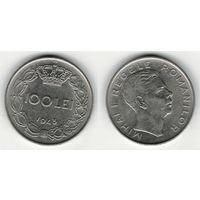 W: Румыния 100 лей 1943, KM#64 (662)