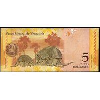 Венесуэла 5 боливаров 2007 г. (Pick 89) UNC   распродажа