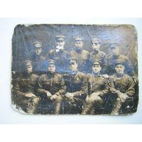Бойцы РККА сборное фото. до 1943г.