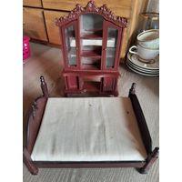 Миниатюрная мебель для кукол