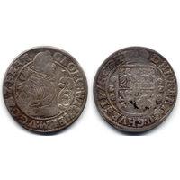 Орт 1622, Пруссия, Георг Вильгельм. Более редкий вариант с портретом 1621 года, R2