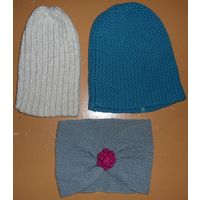 Женские шапки и повязка