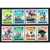 Руанда - 1978г. - Скаутское движение в Руанде - полная серия, MNH [Mi 914-921] - 8 марок