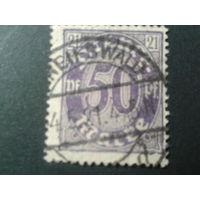 Германия 1920 служебная марка 21