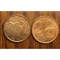 Кипр, 2 евроцента 2008