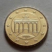 10 евроцентов, Германия 2002 D