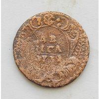 Деньга 1731 одна черта