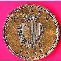 26-09 Мальта, 1 цент 1998 г.