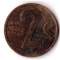 Швейцария 2 раппена 1951